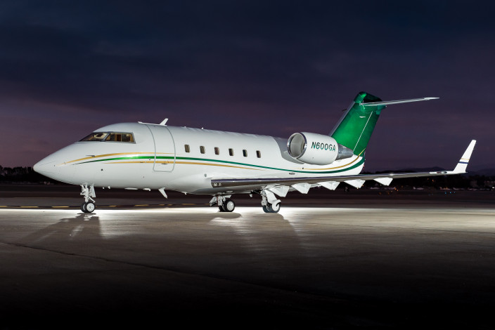 1985 Bombardier Challenger 601-1A SN 3046
