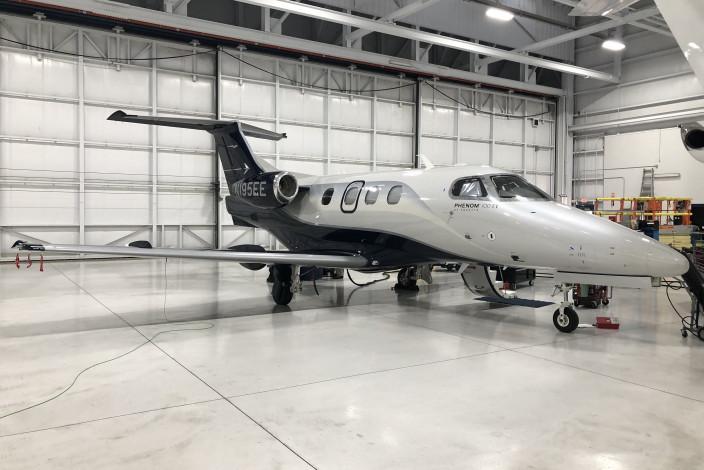 2018 Embraer Phenom 100EV SN 50000395